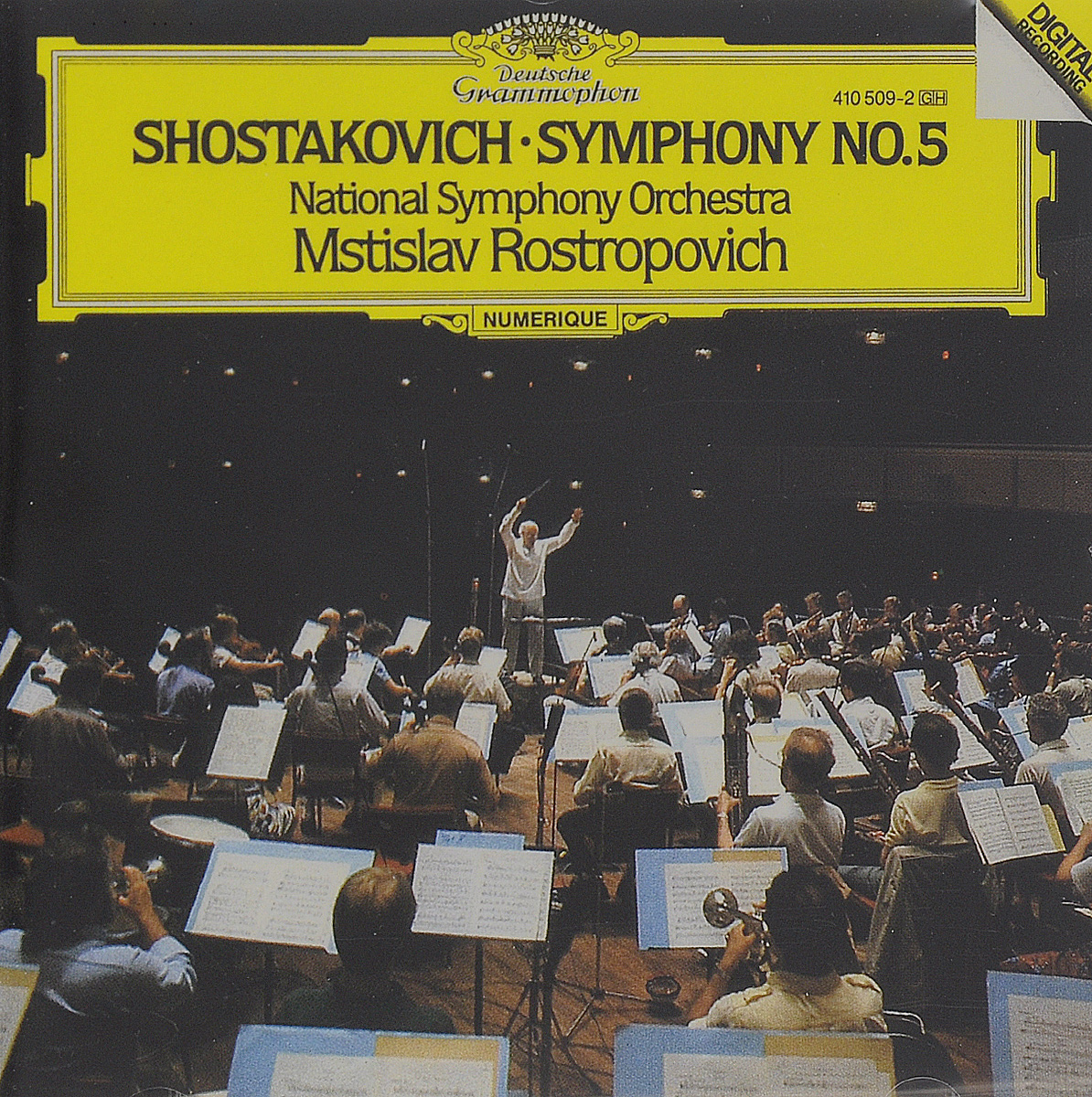цена на Мстислав Ростропович,National Symphony Orchestra Of Washington Mstislav Rostropovich. Shostakovich. Symphony No. 5