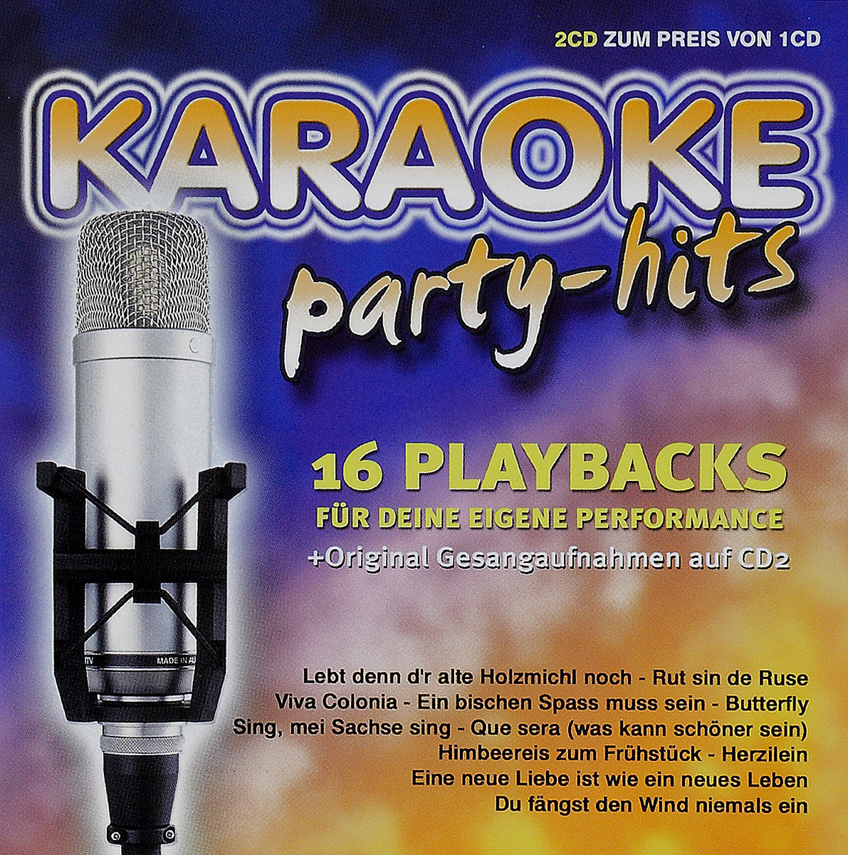 Karaoke Party-Hits (2 CD) марк ронсон super karaoke hits 2015