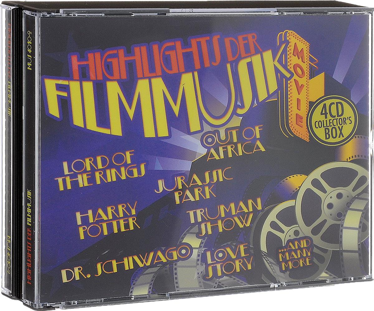 Фото - Highlights Der Filmmusik (4 CD) klassik highlights in classic 4 cd