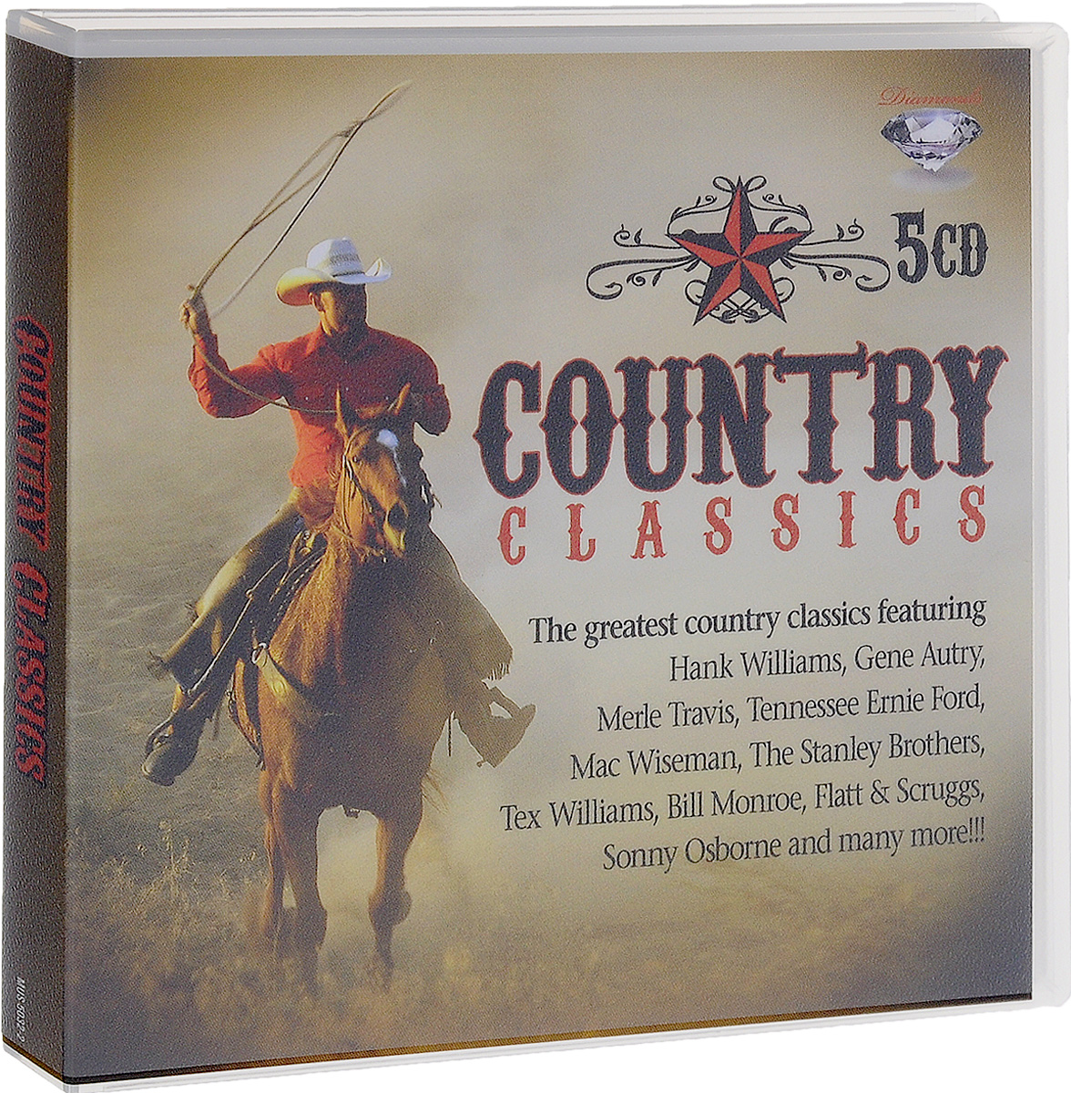 Хэнк Уильямс-младший Country Classics (5 CD) цена и фото