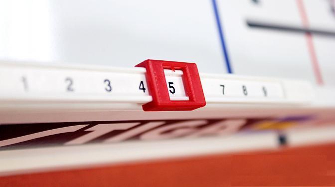 цена на Счетчик очков Stiga, для хоккеев Goal counter strip
