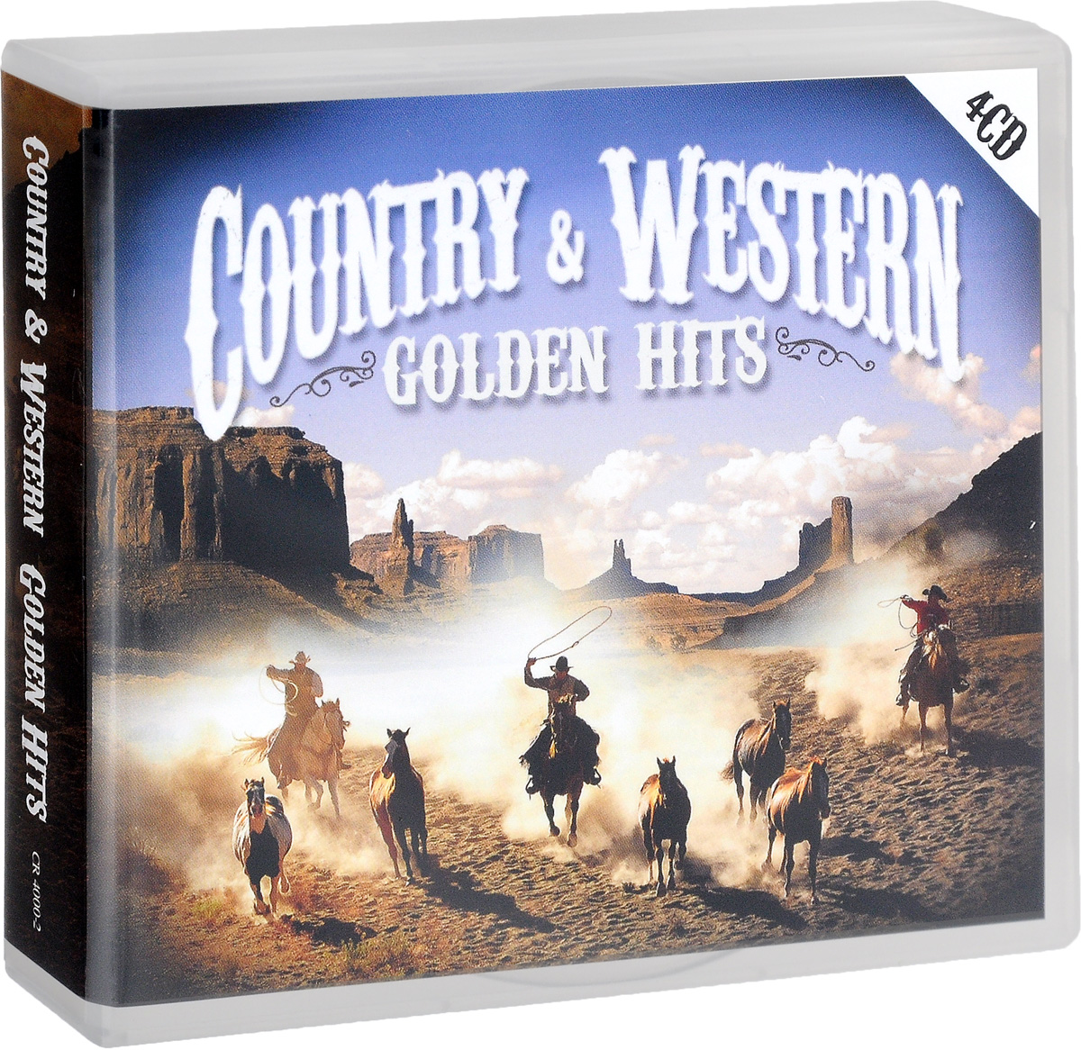 Джонни Кэш Country & Western. Golden Hits (4 CD) instrumental hits 4 cd