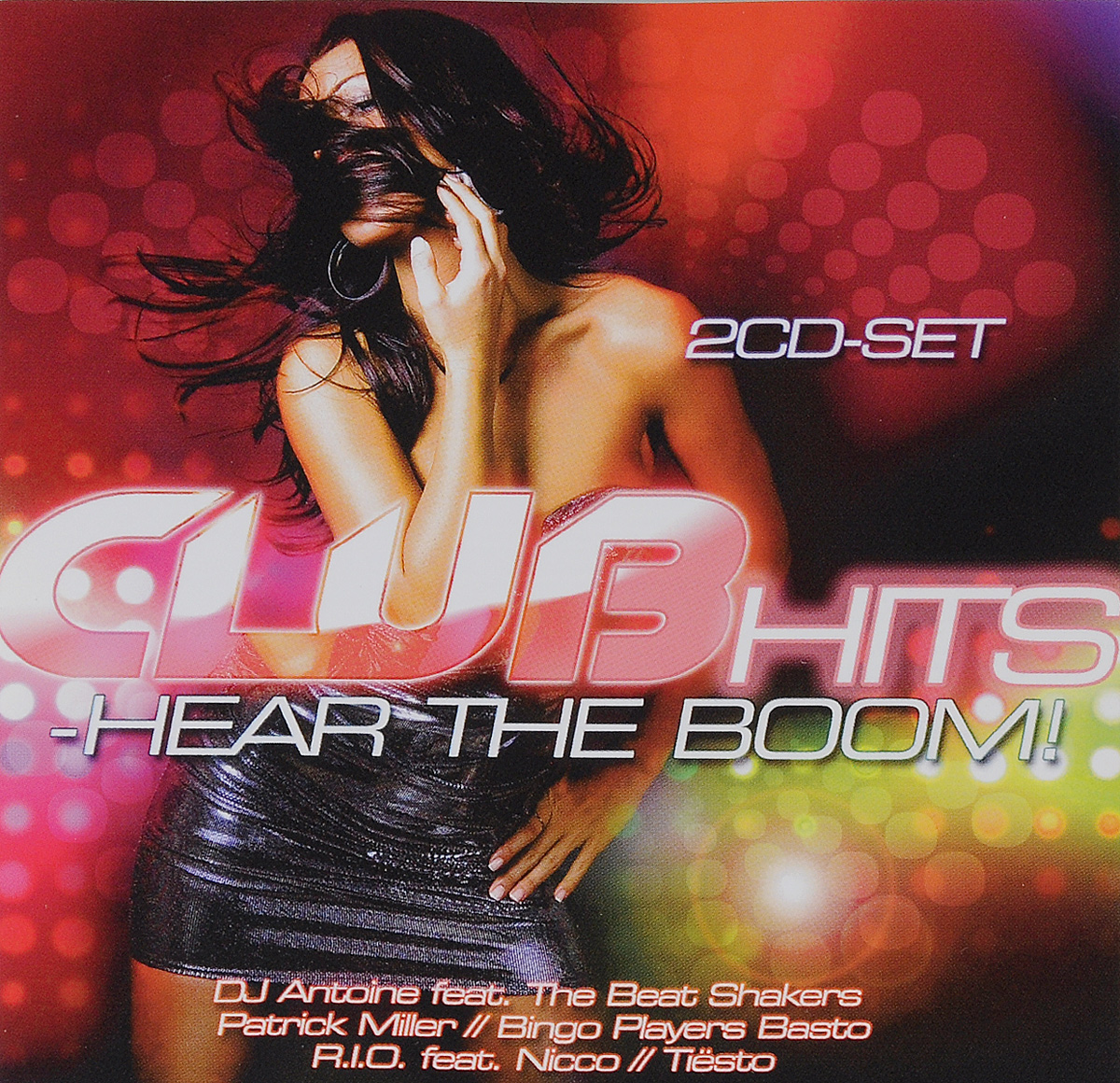 цена Club Hits. Hear The Boom (2 CD) онлайн в 2017 году