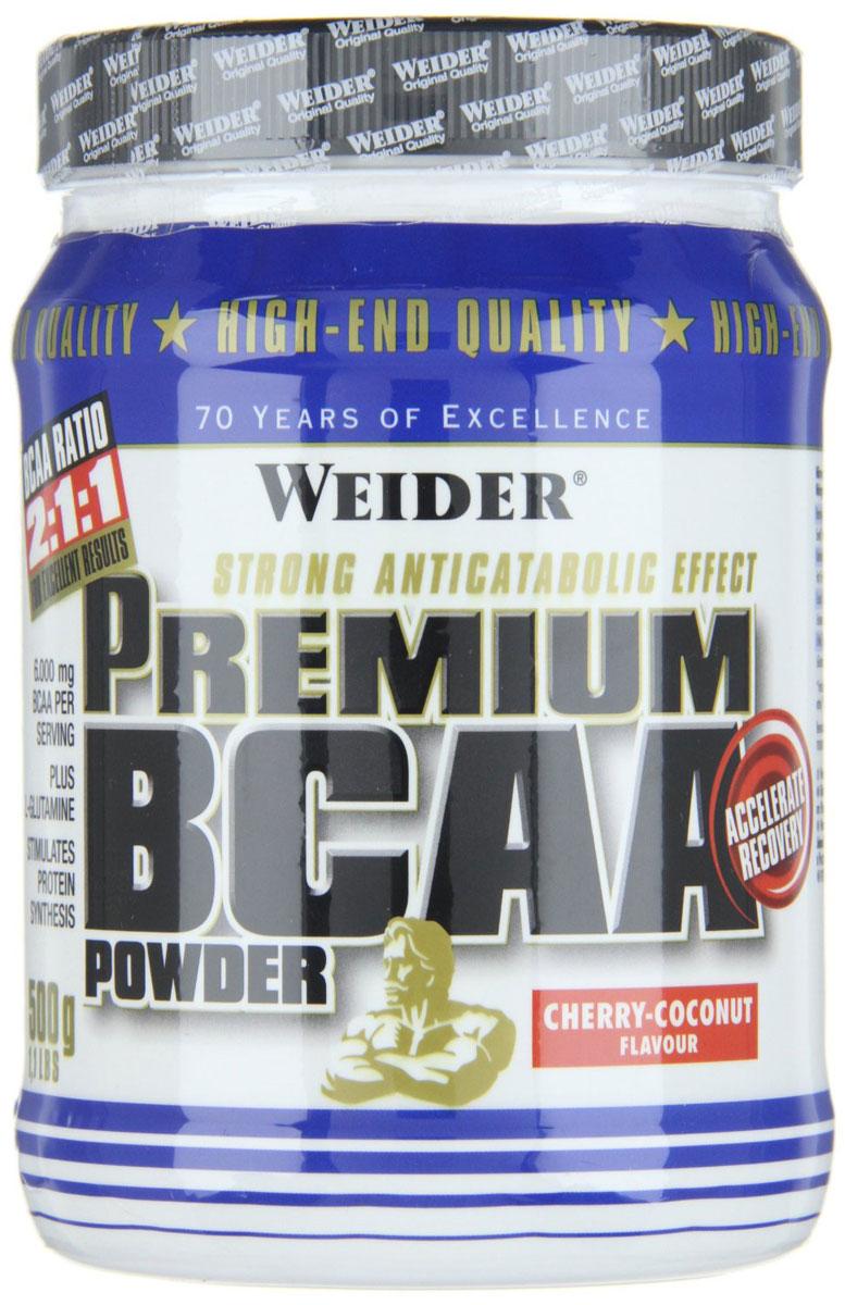 "BCAA Weider ""Premium BCAA Powder"", вишня, кокос, 500 г"