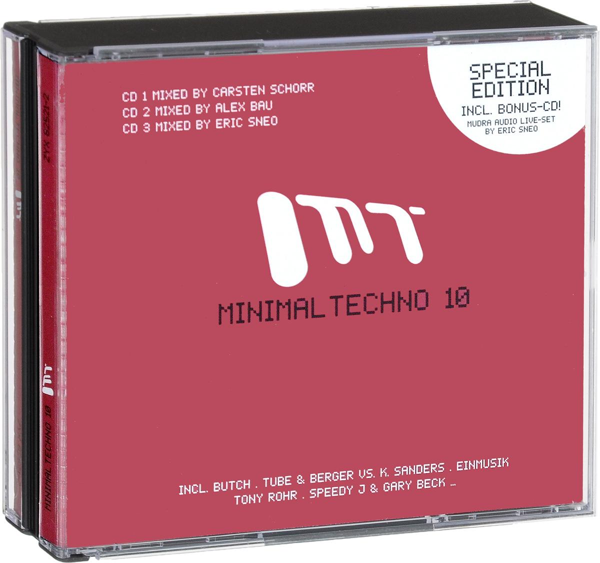 Minimal Techno 10 (3 CD) minimal house 7 2 cd