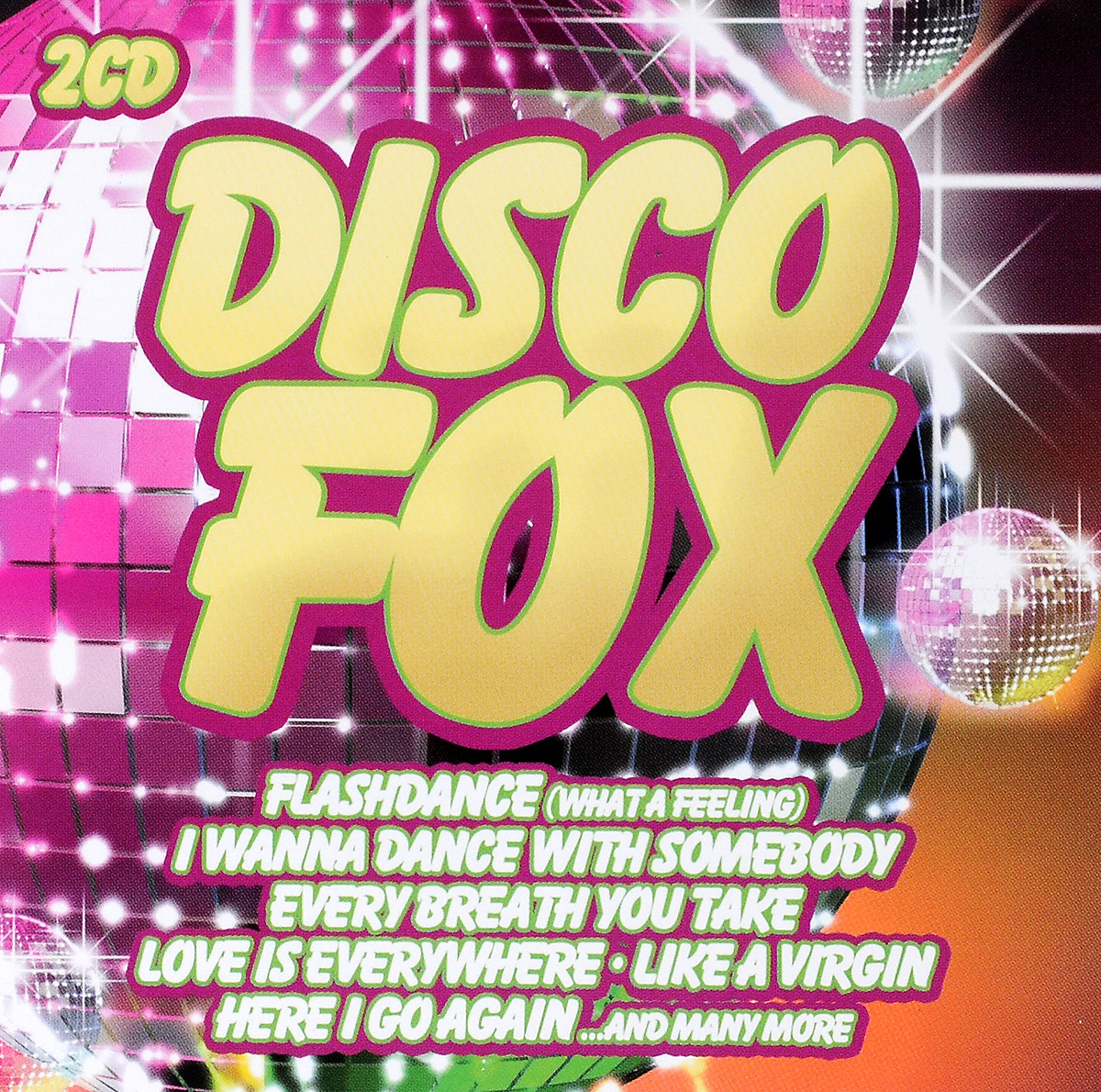 Грант Миллер Disco Fox! (2 CD) цена 2017