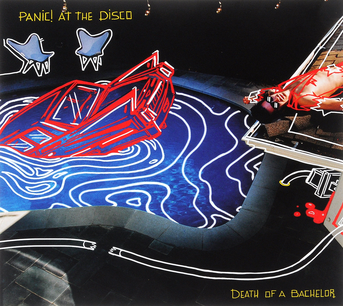 Panic! At The Disco Panic! At The Disco. Death Of A Bachelor (LP) футболка panic at the disco