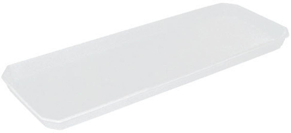 Поддон для балконного ящика InGreen, цвет: белый, длина 40 см поддон для балконного ящика idea цвет терракотовый 40 см