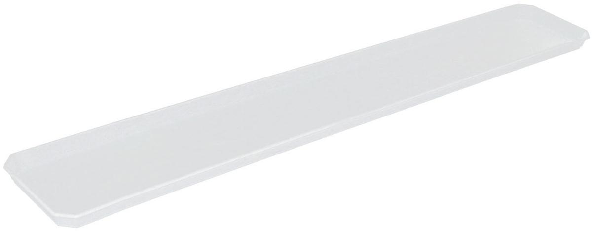 Поддон для балконного ящика InGreen, цвет: белый, длина 80 см поддон для балконного ящика santino цвет белый длина 55 см