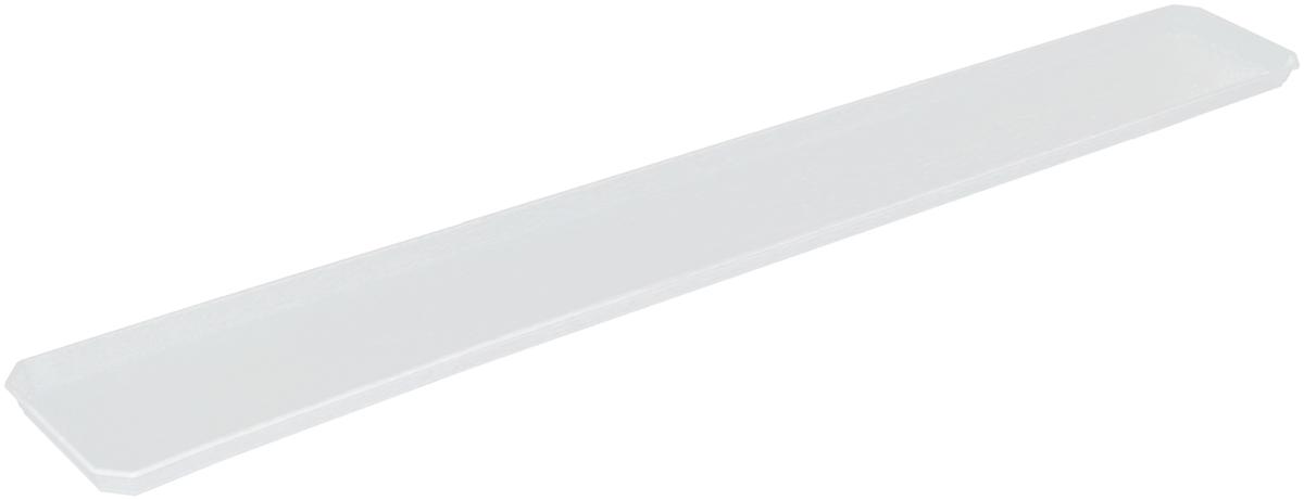 Поддон для балконного ящика InGreen, цвет: белый, длина 100 см поддон для балконного ящика santino цвет белый длина 55 см