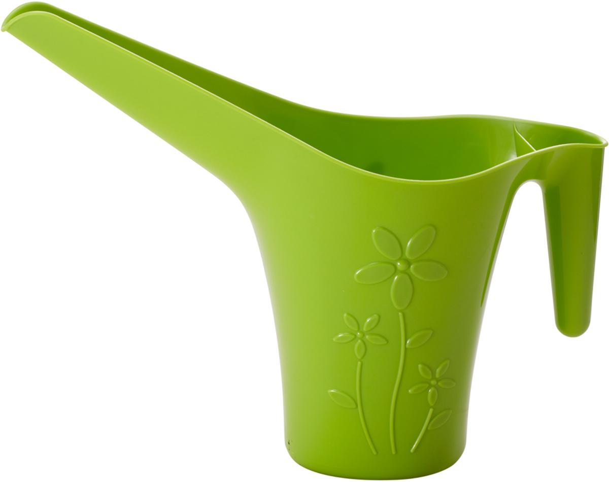 "Лейка для полива комнатных цветов ""InGreen"", цвет: салатовый, 1,7 л"