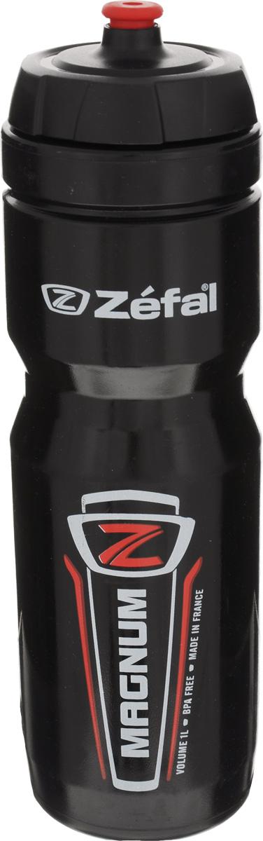 Фляга велосипедная Zefal Magnum, 1 л фляга велосипедная zefal sense m65 цвет белый 650 мл 155a