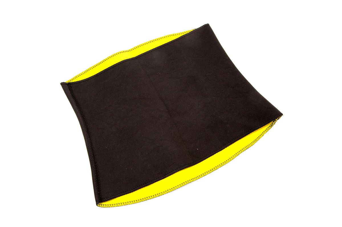 Пояс для похудения Bradex Хот Шейперс, цвет: желтый. SF 0106. Размер M (46) майка для похудения женская bradex хот шейперс цвет черный белый sf 0222 размер m 46