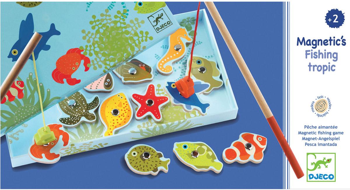 Djeco Обучающая игра Тропическая рыбалка djeco обучающая игра счеты