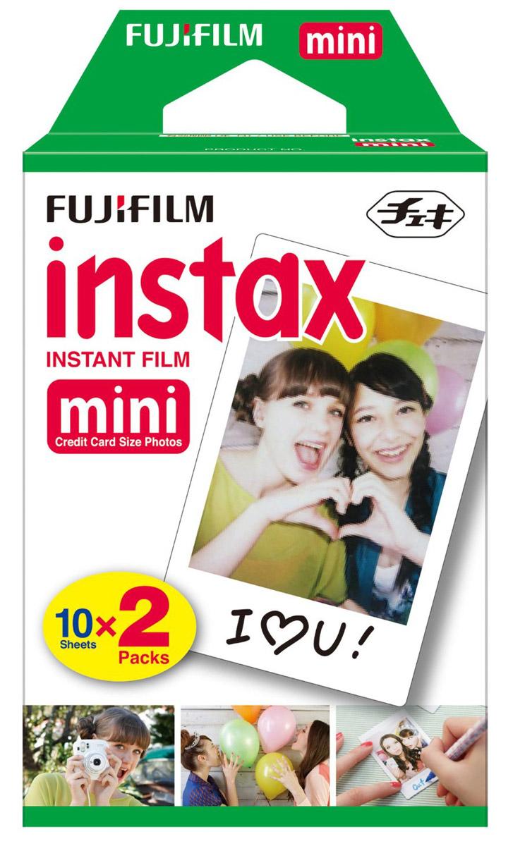 FujifilmColorfilmInstax Mini (10/2PK) картридж картридж для фотоаппарата fujifilm colorfilm instax mini glossy 10 2pk