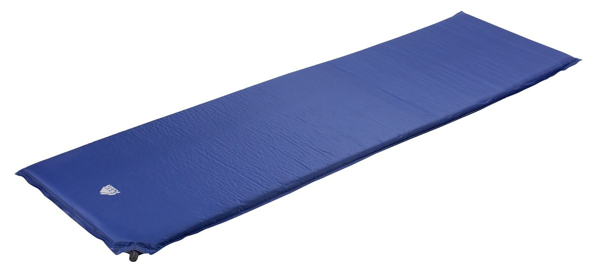 Коврик TREK PLANET Active 25, самонадувающийся, цвет: синий, 183 х 51 х 2,5 см коврик для пикника trek planet picnic mat цвет синий