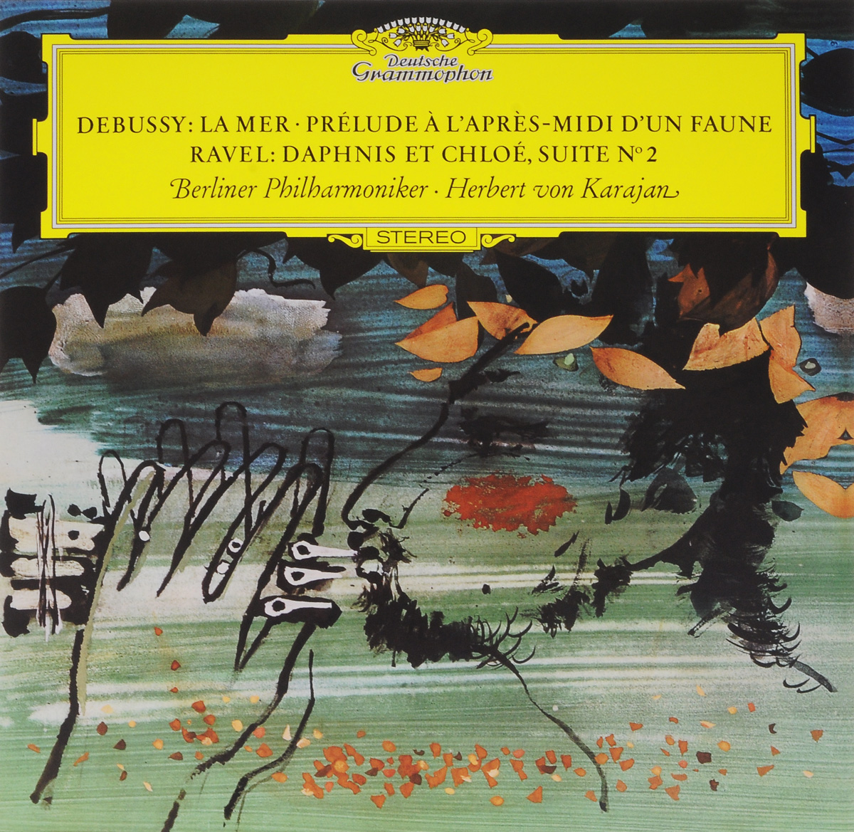 лучшая цена Герберт Караян,Berliner Philharmoniker Herbert Von Karajan. Debussy. La Mer. Prelude A L'Apres-Midi D'Un Faune / Ravel. Daphnis Et Chloe, Suite № 2 (LP)