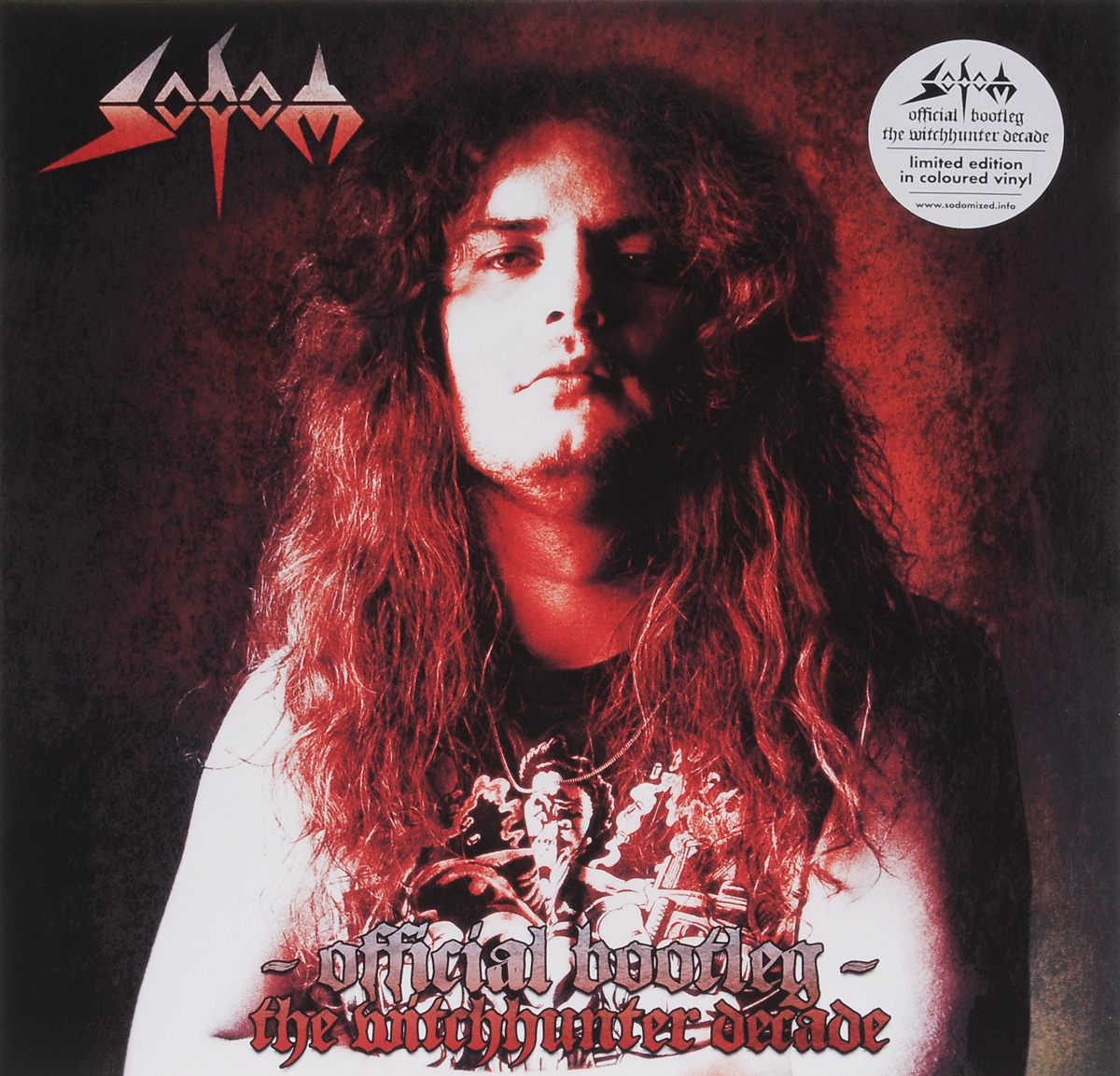 Sodom Sodom. Official Bootleg. The Witchhunter Decade. Limited Edition (2 LP) sodom
