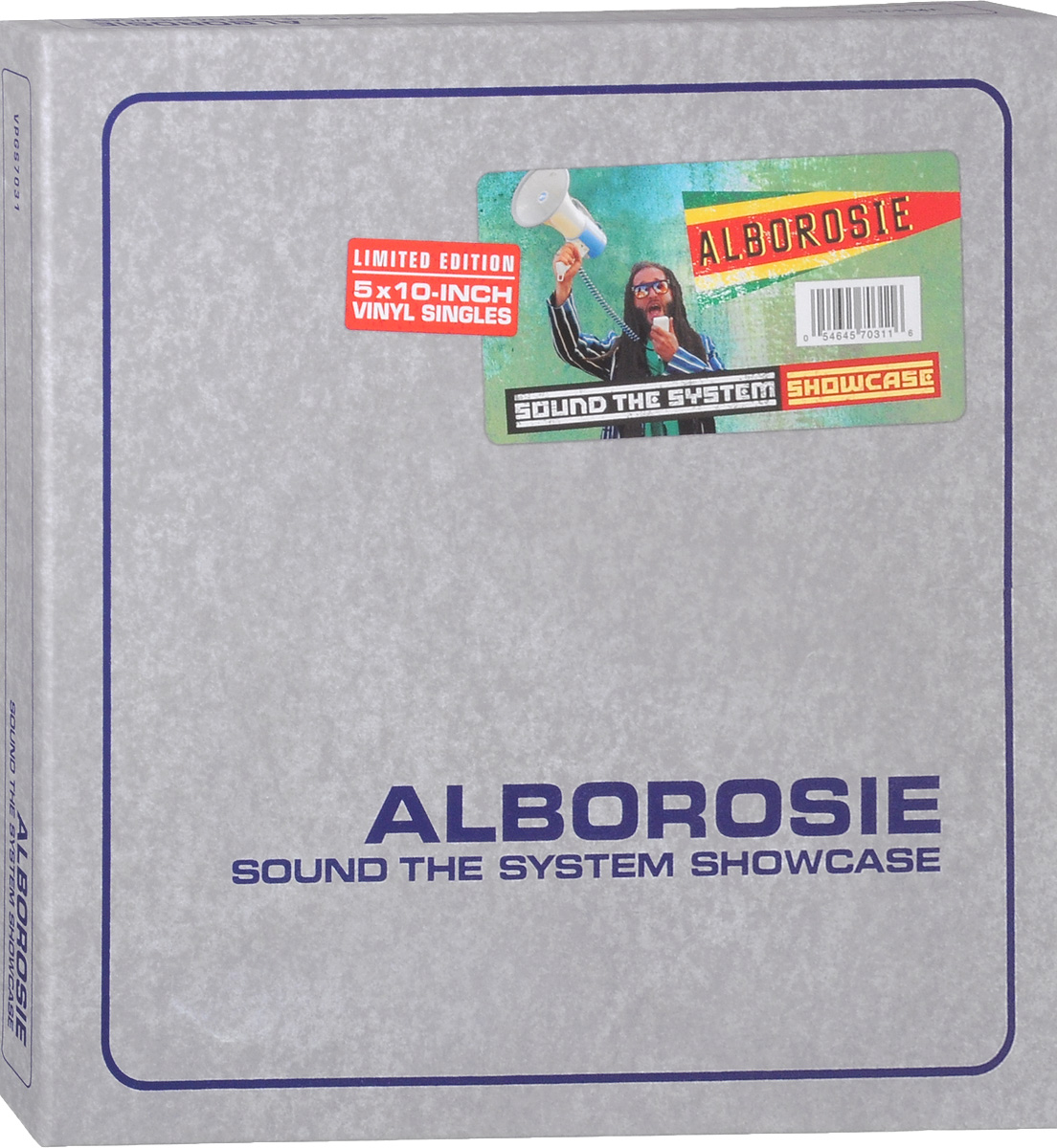 Alborosie Alborosie. Sound The System Showcase. Limited Edition (5 LP) 3 6 8 7 10 9 12