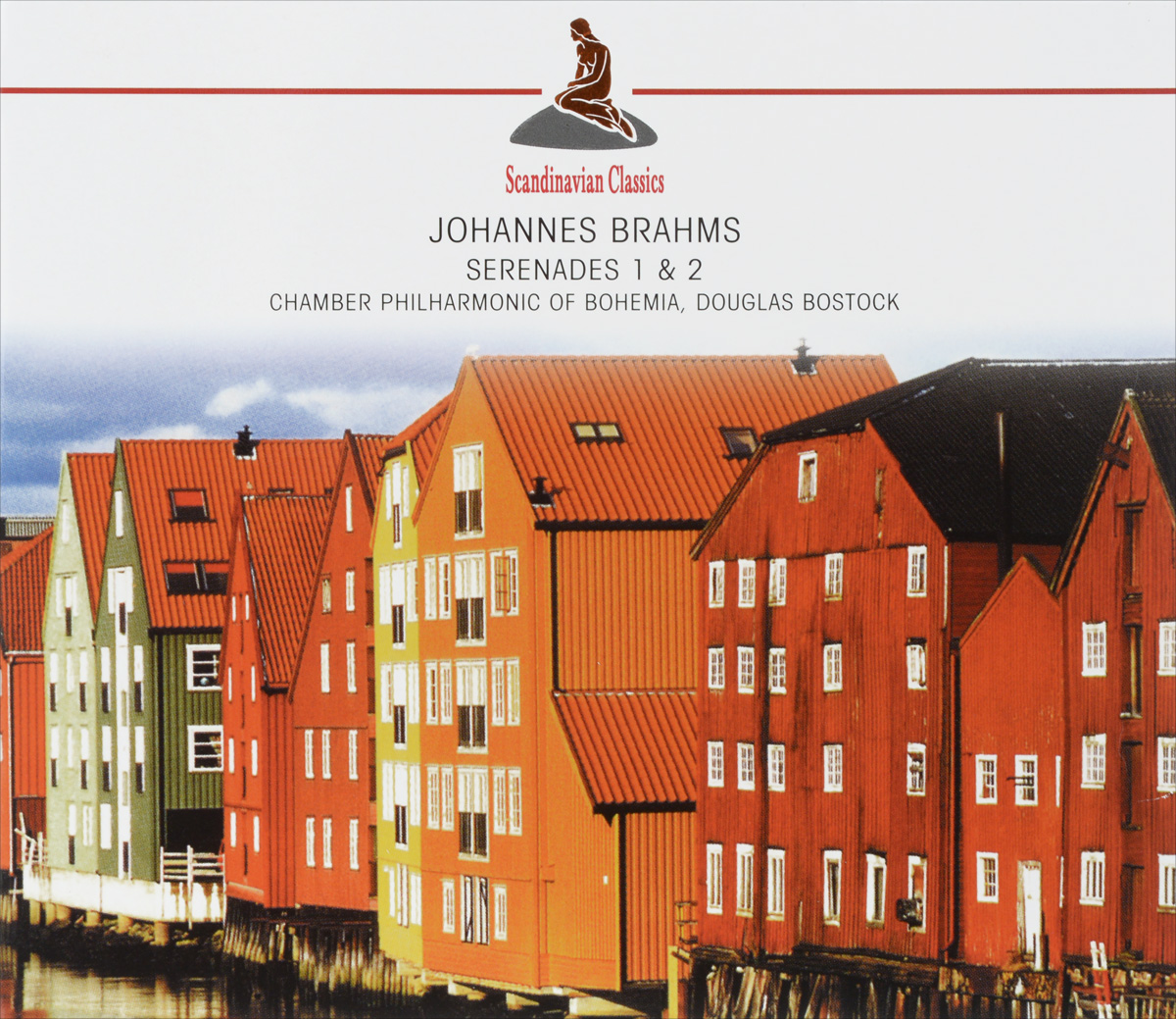 Дуглас Босток,Chamber Philharmonic Of Bohemia Scandinavian Classics. Douglas Bostock, Chamber Philharmonic Of Bohemia. Johannes Brahms. Serenades 1 & 2 тону кэлжуст estonian philharmonic chamber choir arvo part kanon pokajanen 2 cd