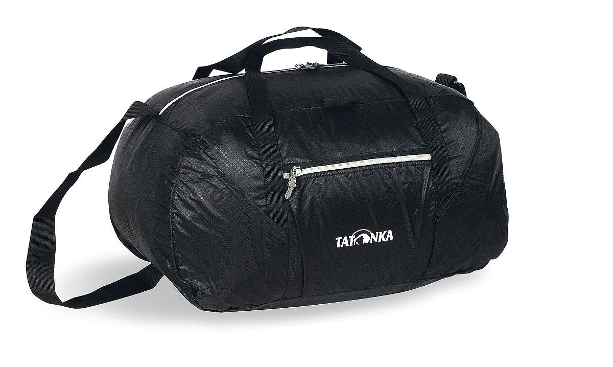 Сумка складная Tatonka Squeezy Duffle S, цвет: черный, 30 л сумка дорожная tatonka squeezy duffle
