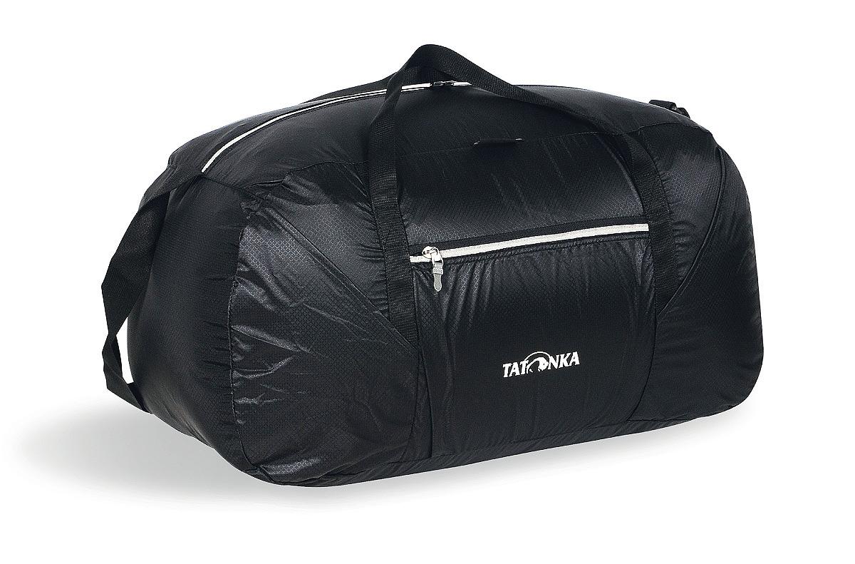 Сумка складная Tatonka Squeezy Duffle L, цвет: черный, 65 л сумка дорожная tatonka squeezy duffle