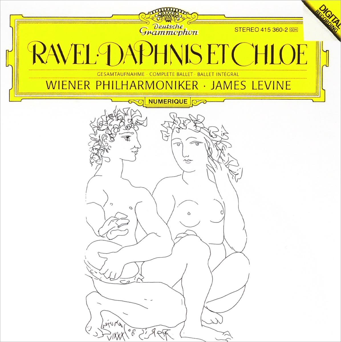 лучшая цена Джеймс Левайн,Wiener Philharmoniker Orchestra James Levine, Wiener Philharmoniker. Ravel. Daphnis Et Chloe