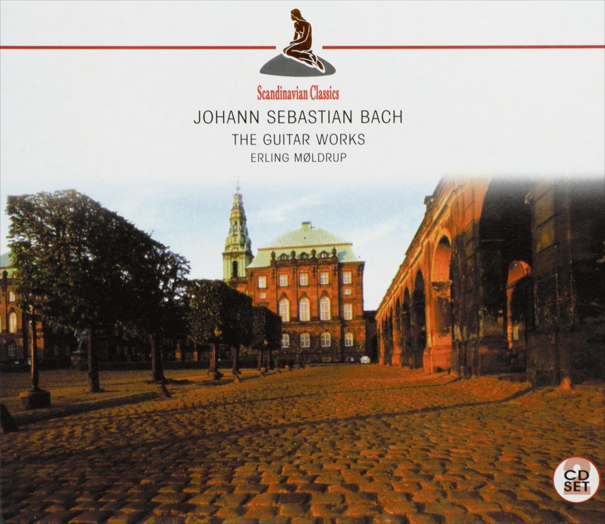 лучшая цена Erling Moldrup Scandinavian Classics. Erling Moldrup. Bach. The Guitar Works (2 CD)