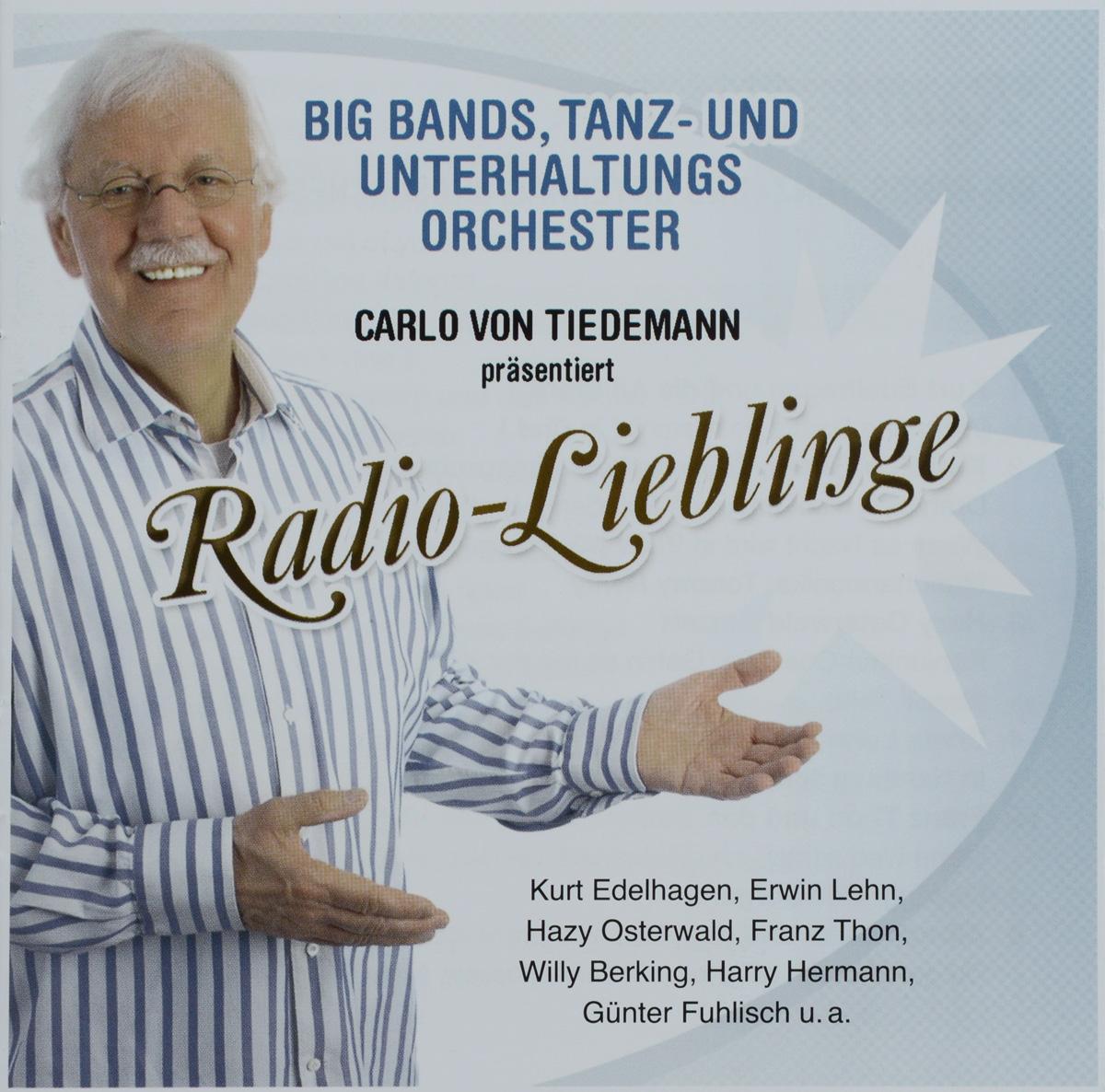 Unterhaltungs Orchester,Курт Эделхаген Big Bands, Tanz- Und Unterhaltungs Orchester. Radio-Lieblinge (2 CD) курт редел pro arte orchester kurt redel bach essentials