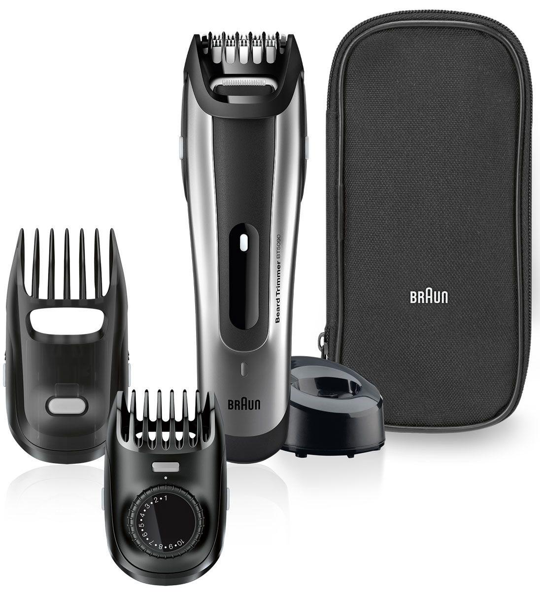 все цены на Триммер для бороды и усов Braun BT 5090 онлайн