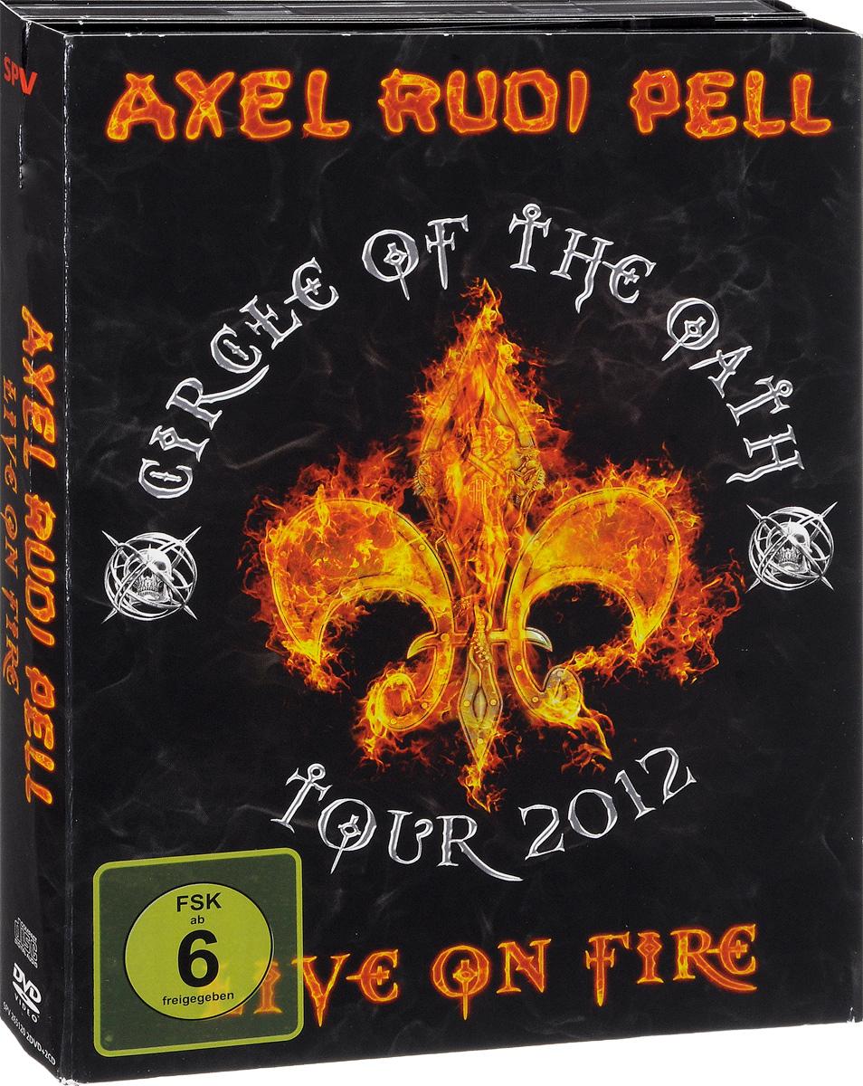 Аксель Руди Пелл Axel Rudi Pell. Live On Fire (2 CD + 2 DVD)