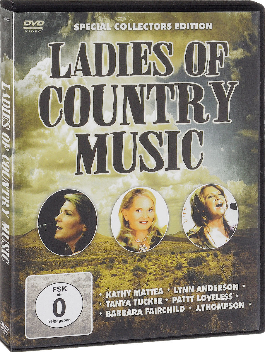 Ladies Of Country Music: Special Collectors Edition sandra archer johnson because of kathy