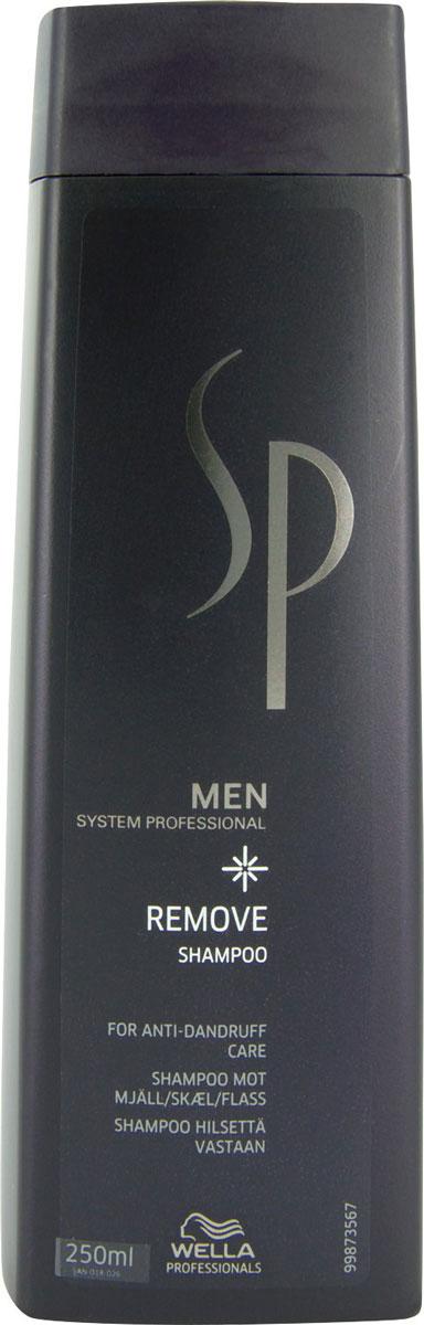 Wella SP Шампунь против перхоти Men Removing Shampoo, 250 мл водка в шампунь от перхоти