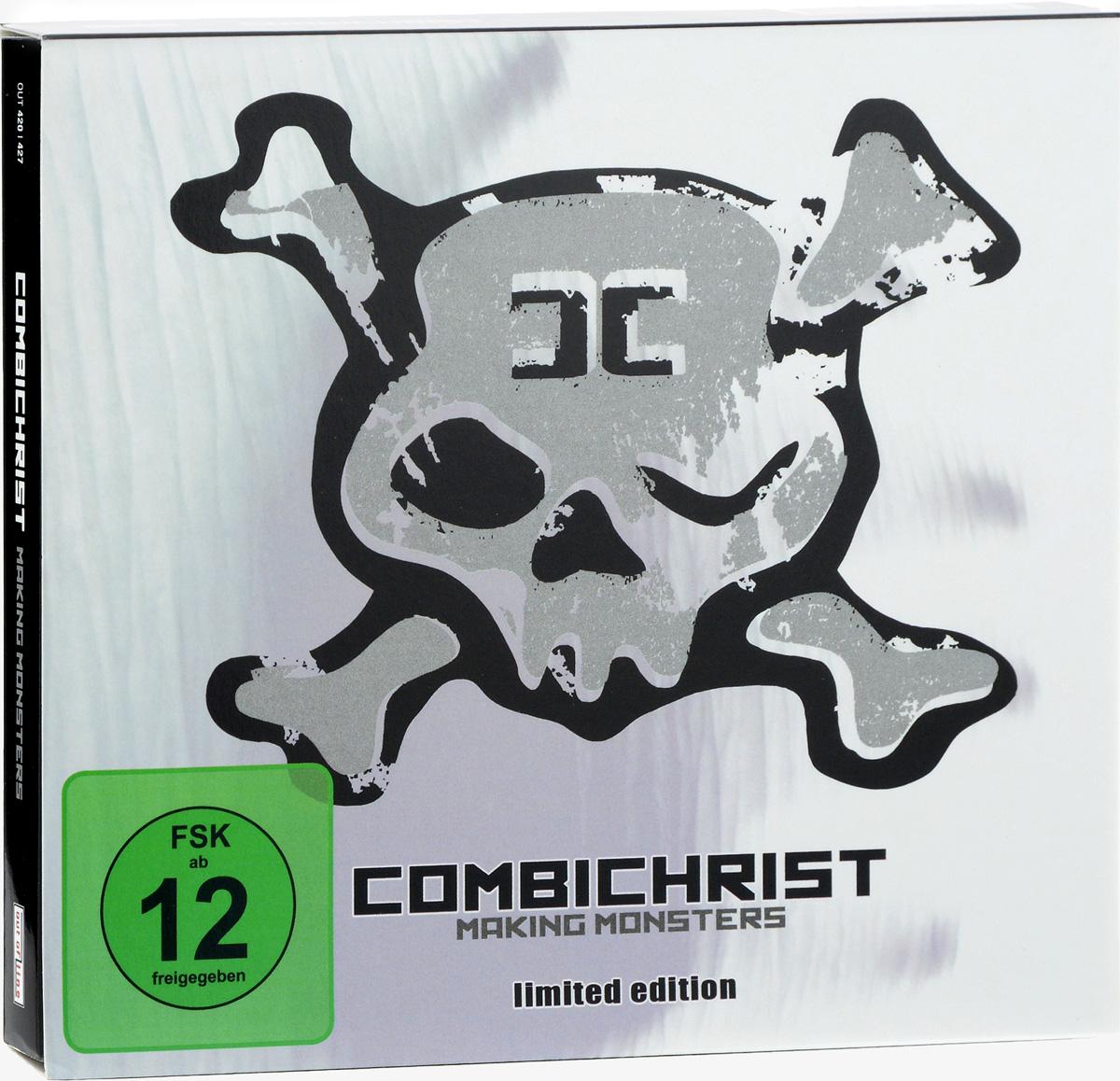 Combichrist Combichrist. Making Monsters. Limited Edition (CD + DVD) vier promille ein letzter gruss live in leipzig 2007 dvd 2 cd