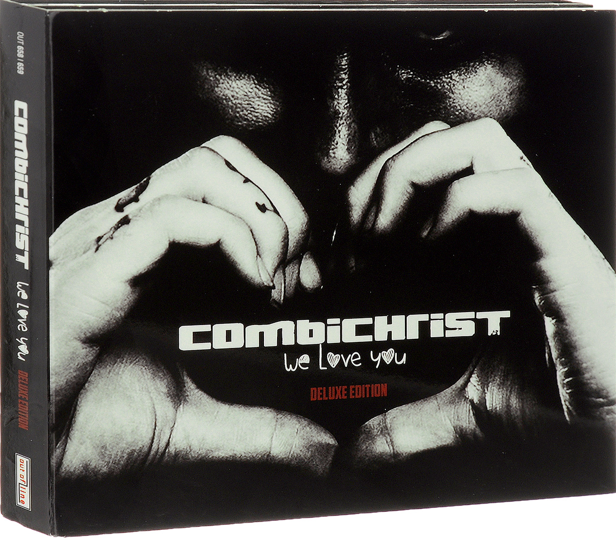 Combichrist Combichrist. We Love You (2 CD) we love electro iv 2 cd