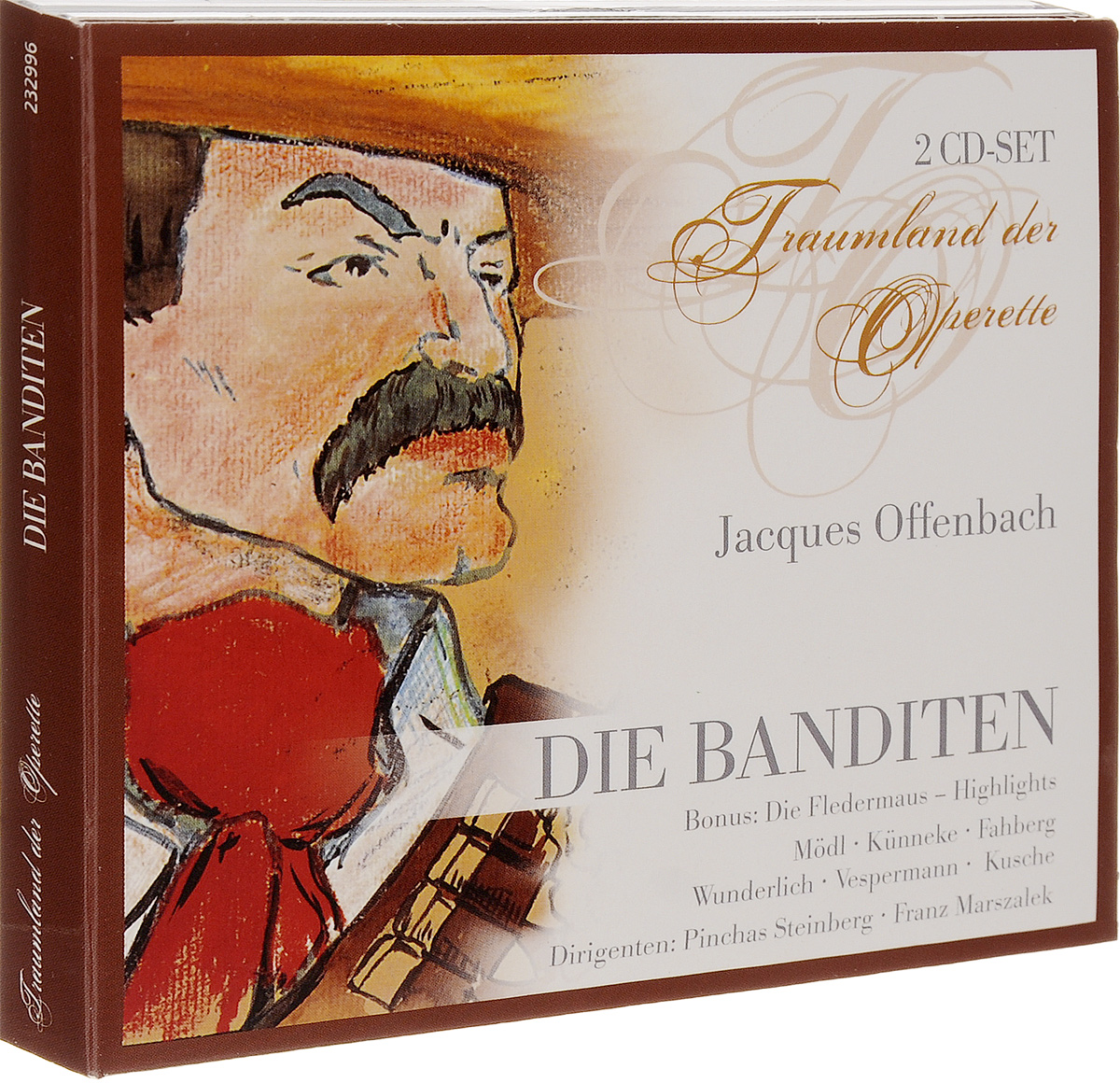 Jacques Offenbach. Die Banditen (2 CD) иоганн штраус паоло россини u offenbach strauss rossini offenbach u v intermezzo