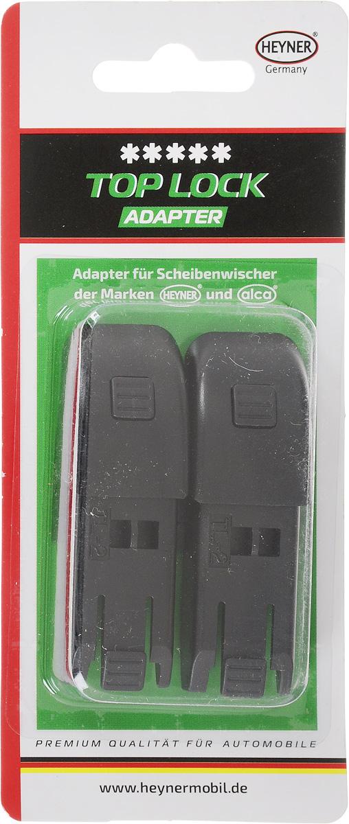 Адаптер для щеток стеклоочистителя Heyner, c верхним замком, 2 шт адаптеры для щеток стеклоочистителя rekzit ft 2 шт