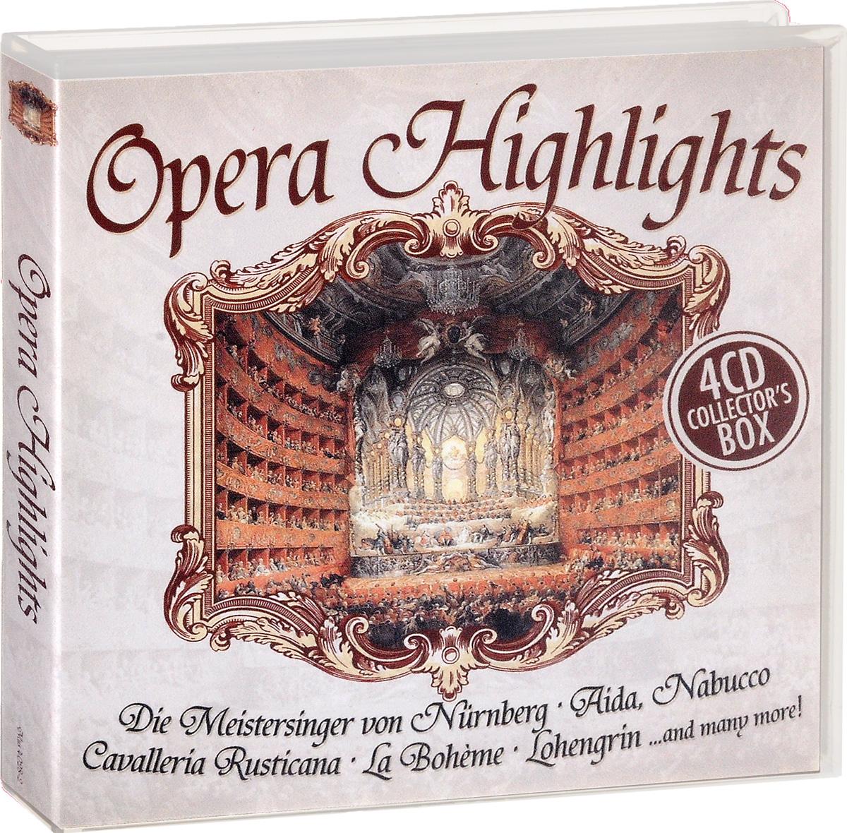 Фото - Opern Highlights / Opera Highlights (4 CD) klassik highlights in classic 4 cd