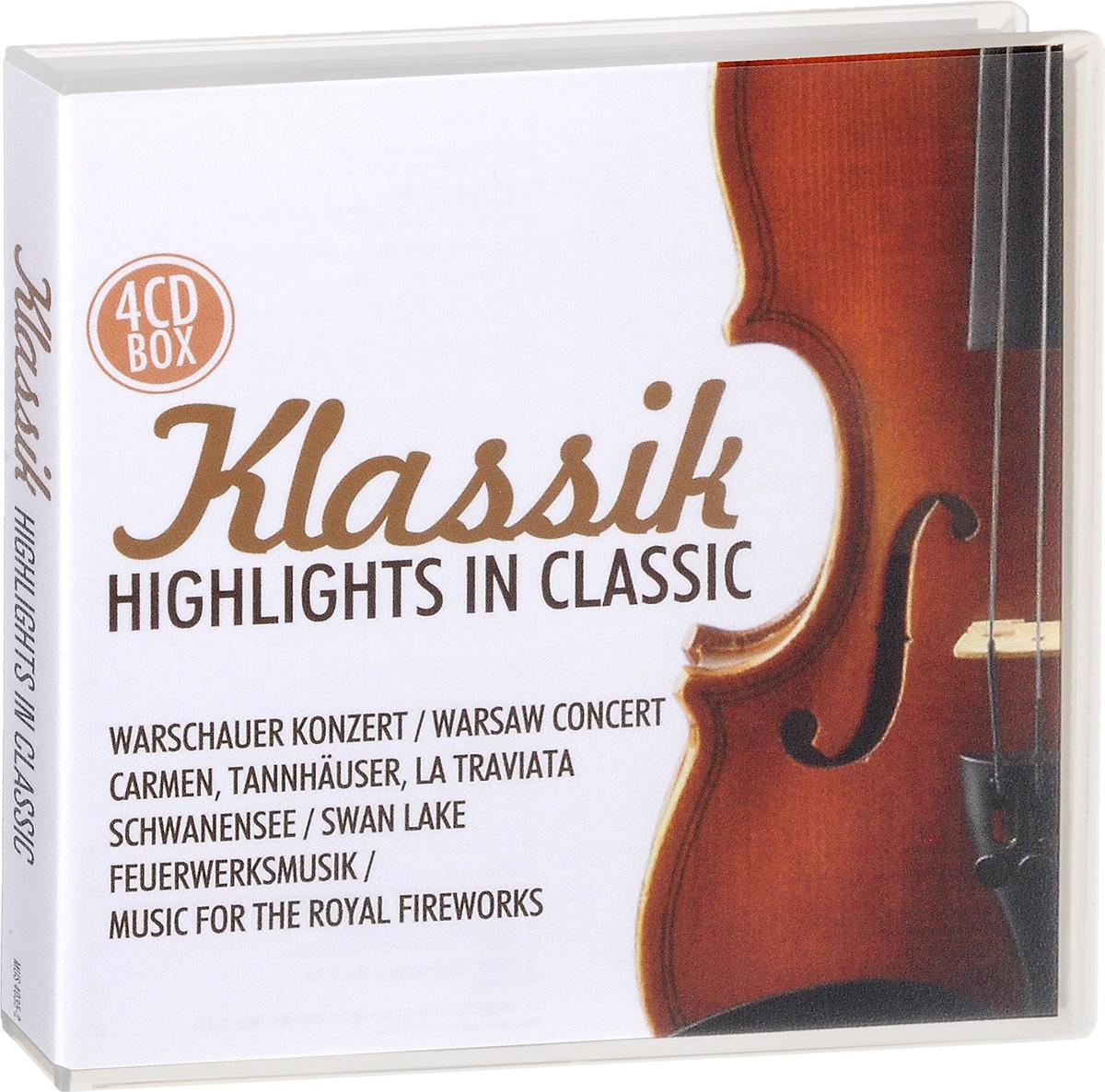 Фото - Klassik. Highlights In Classic (4 CD) klassik highlights in classic 4 cd