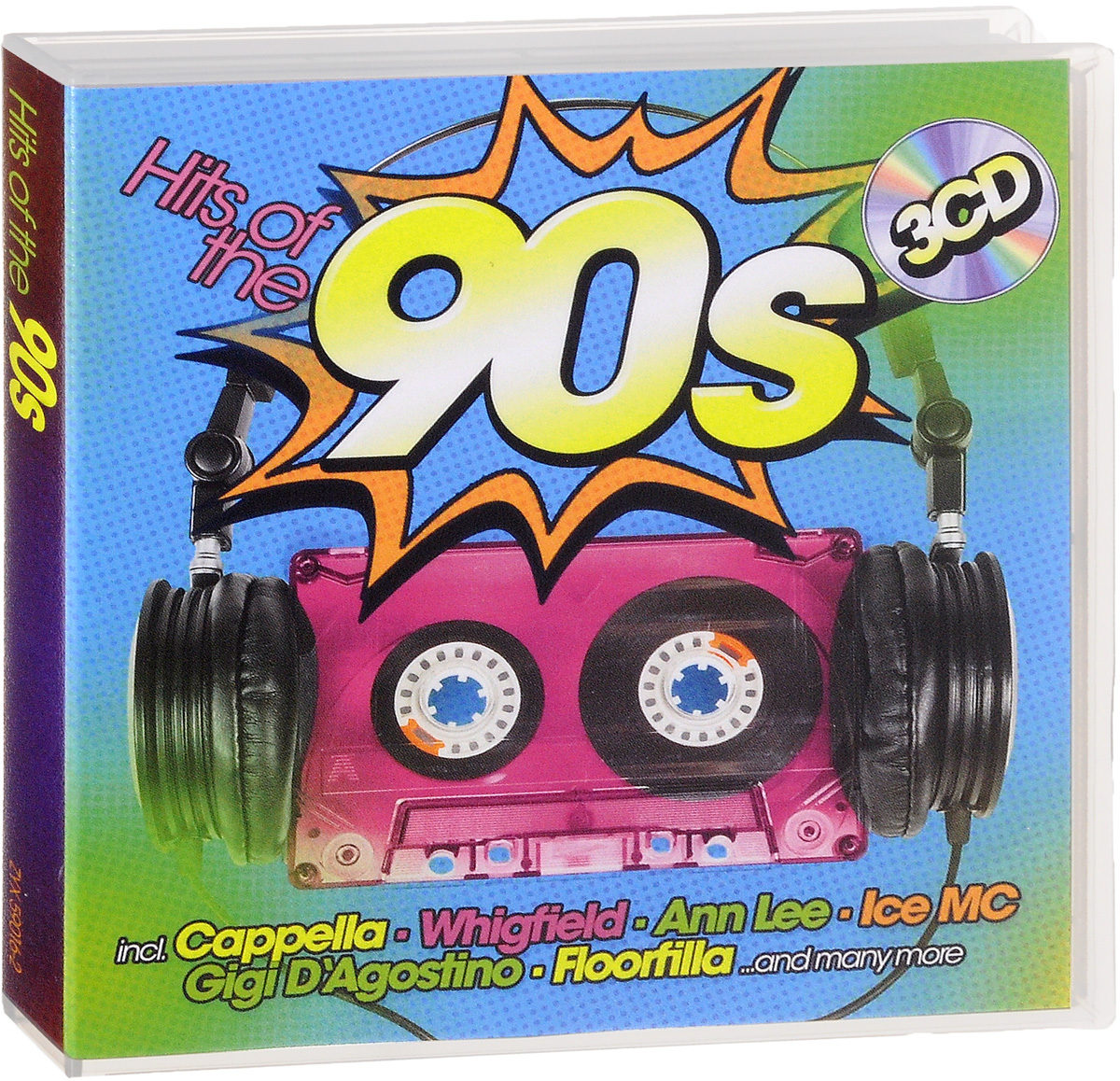 Hits Of The 90s (3 CD) slade wall of hits cd