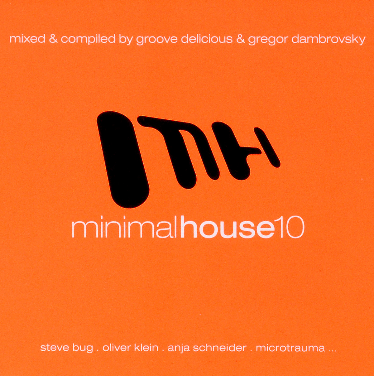 Minimal House 10 (2 CD) minimal house 7 2 cd