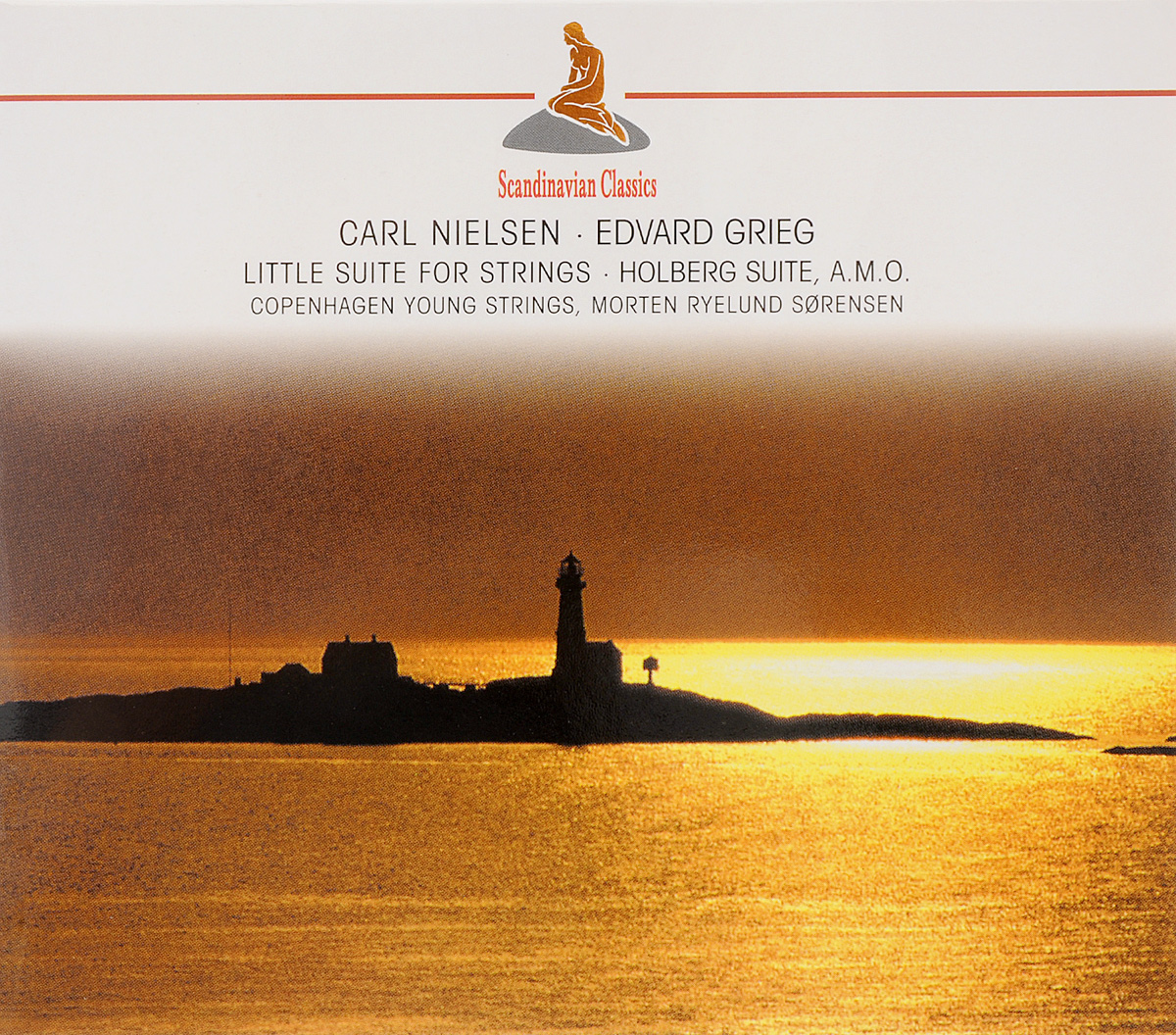 Scandinavian Classics. Carl Nielsen. Little Suite For Strings / Edvard Grieg. From Holberg's Suite, A.M.O (2 CD) edvard grieg 23 little piano pieces