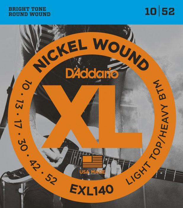 Фото - D'Addario EXL140 струны для электрической гитары степные струны