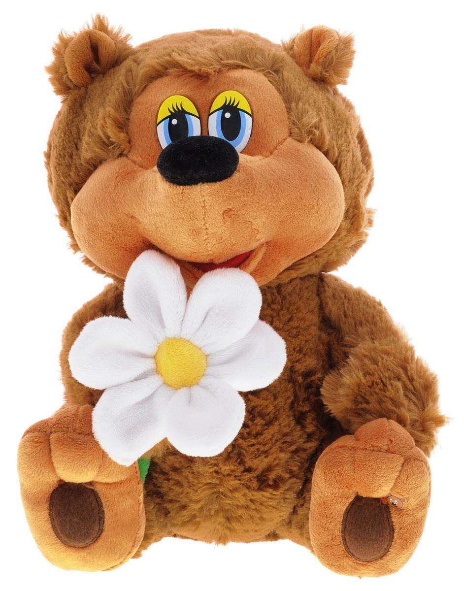 Мульти-Пульти Мягкая озвученная игрушка Медвежонок 25 см ковалец е худ облака белогривые лошадки