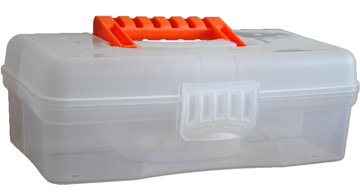 Органайзер Blocker Hobby Box, цвет: прозрачный, 23,5 х 13 х 8 смBR3750ПР-18РSОрганайзер Blocker Hobby Box изготовлен из высококачественного прочного пластика и предназначен для хранения и переноски небольших инструментов, рыболовных принадлежностей и различных мелочей. Оснащен 4 секциями. Надежно закрывается при помощи пластмассовой защелки. На крышке имеется ручка для удобной переноски изделия. Размер самой большой секции: 22,5 х 7 х 5,5 см. Размер самой маленькой секции: 6,5 х 4,5 х 5,5 см. Рекомендуем!