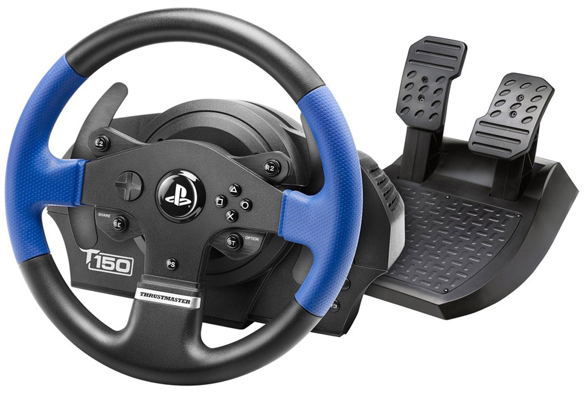 Thrustmaster T150 RS EU Version руль для PS4/PS3/PC (4160628)