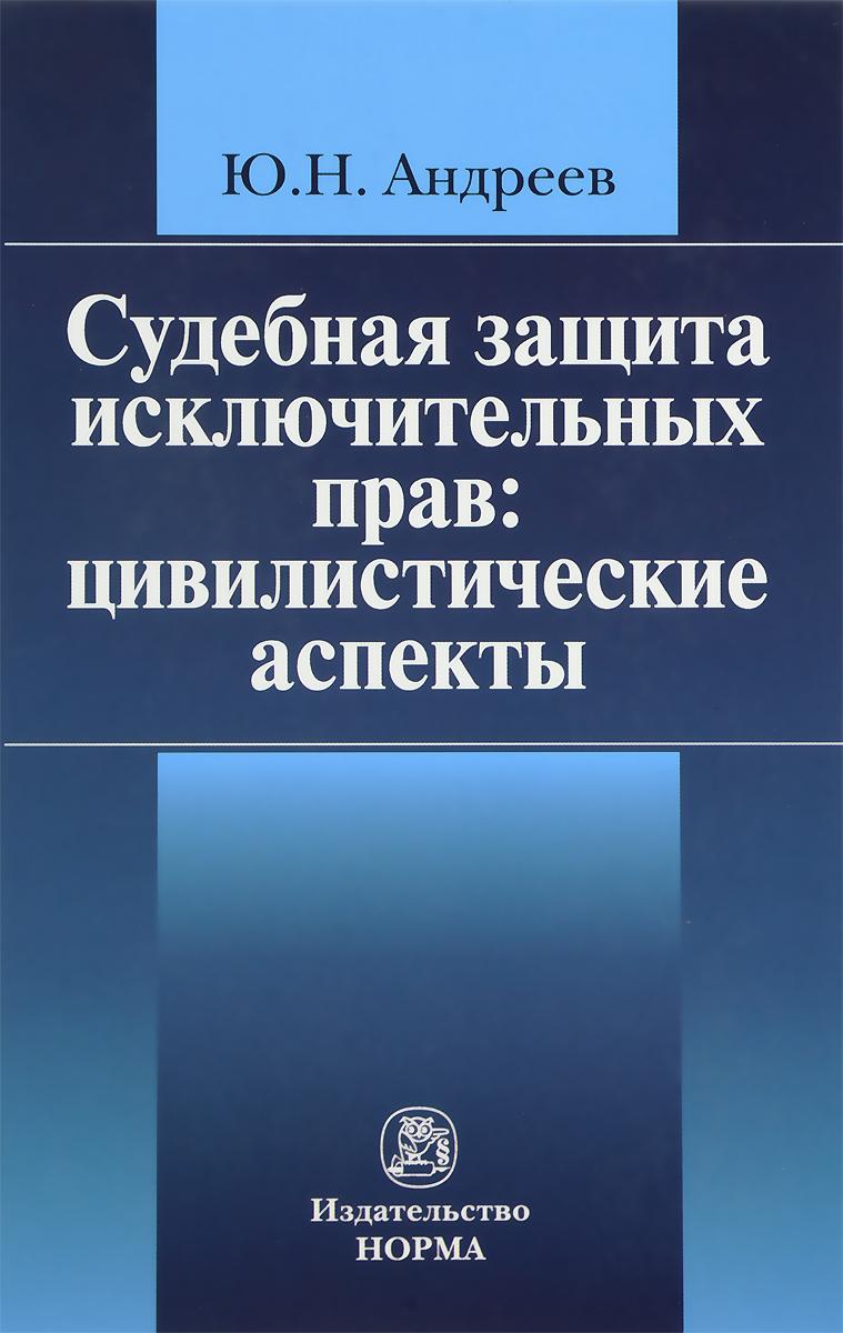 Ю. Н. Андреев Судебная защита исключительных прав. Цивилистические аспекты