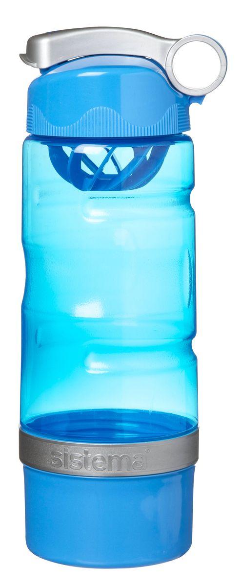 Бутылка Sistema 535_голубой, голубой