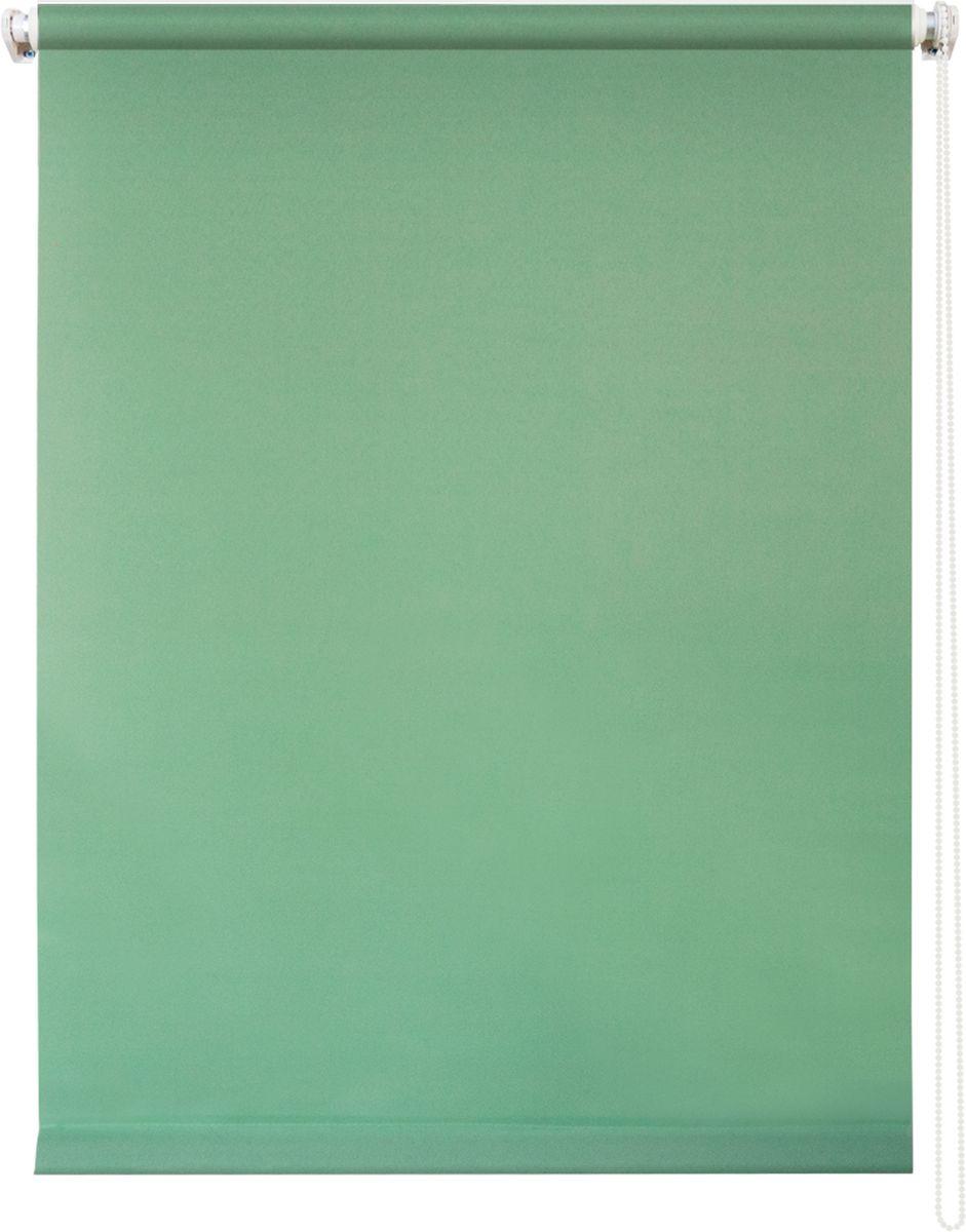 Штора рулонная Уют Плайн, цвет: светло-зеленый, 80 х 175 см62.РШТО.7513.080х175Штора рулонная Уют Плайн выполнена из прочного полиэстера с обработкой специальным составом, отталкивающим пыль. Ткань не выцветает, обладает отличной цветоустойчивостью и светонепроницаемостью. Штора закрывает не весь оконный проем, а непосредственно само стекло и может фиксироваться в любом положении. Она быстро убирается и надежно защищает от посторонних взглядов. Компактность помогает сэкономить пространство. Универсальная конструкция позволяет крепить штору на раму без сверления, также можно монтировать на стену, потолок, створки, в проем, ниши, на деревянные или пластиковые рамы. В комплект входят регулируемые установочные кронштейны и набор для боковой фиксации шторы. Возможна установка с управлением цепочкой как справа, так и слева. Изделие при желании можно самостоятельно уменьшить. Такая штора станет прекрасным элементом декора окна и гармонично впишется в интерьер любого помещения. Рекомендуем!