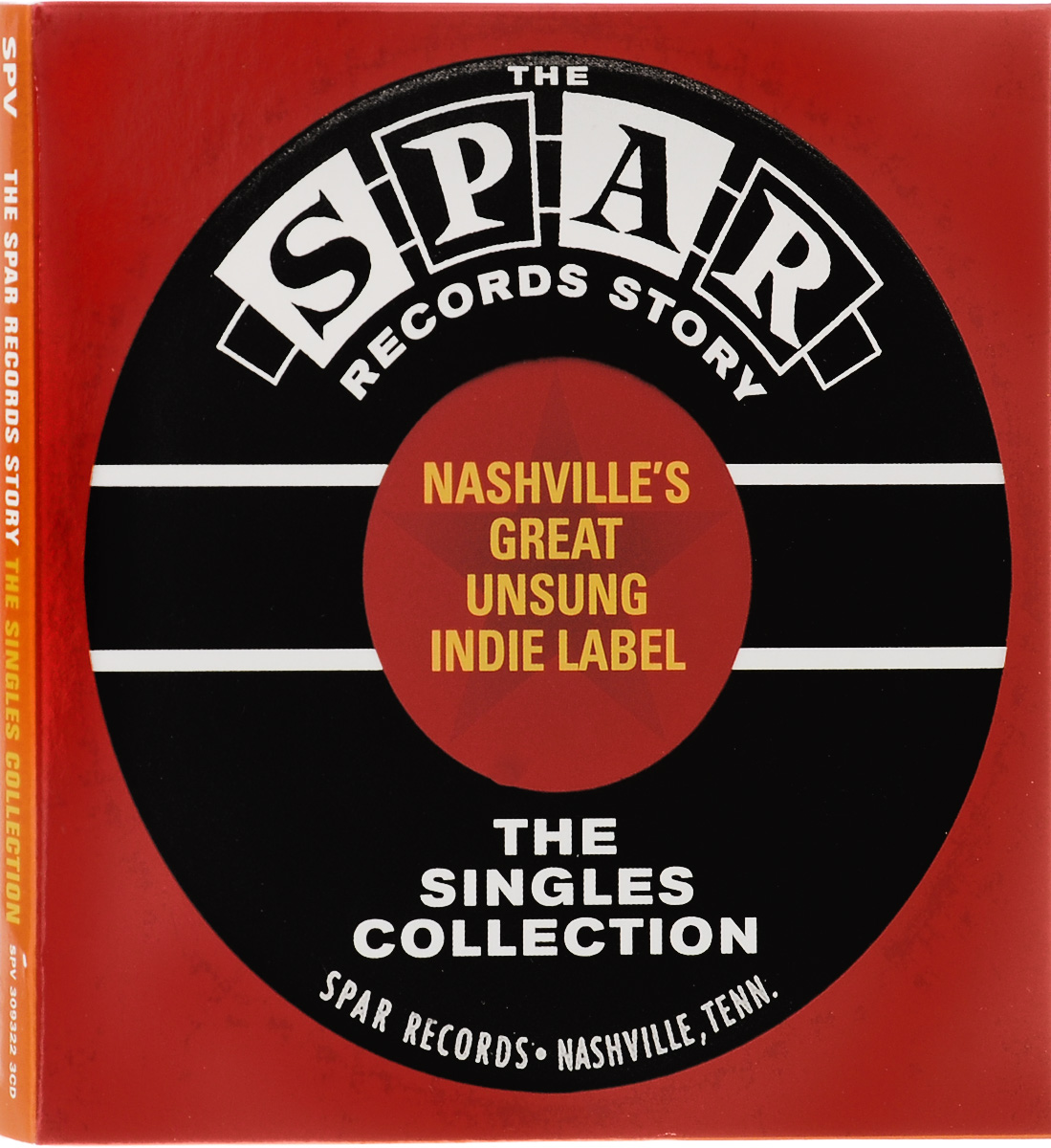 The Spar Records Story. The Singles Collection (3 CD) the perfect product phase free shipping pink floyd discovery cd 16 singles fine suit boxed full collection factory sealed limit
